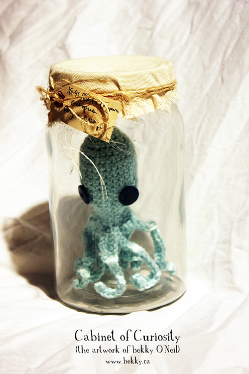 Curious Crochet Creature by bekky O'Neil