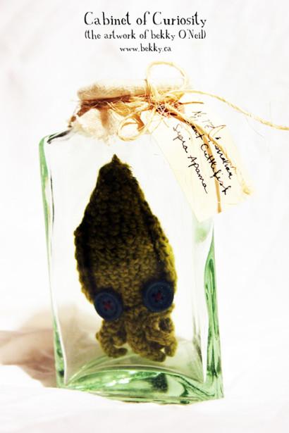 Curious Crochet Creature by bekky O'Neil