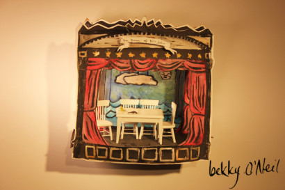 Paper Moon by bekky O'Neil