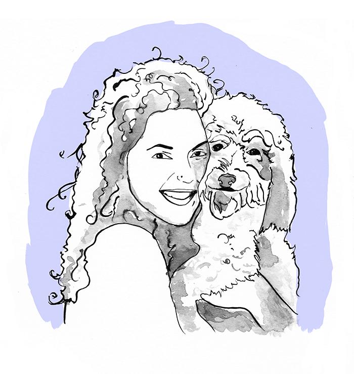 Rebecca & Sadie by bekky O'Neil